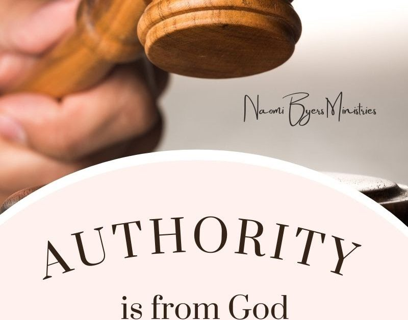 Authority is from God
